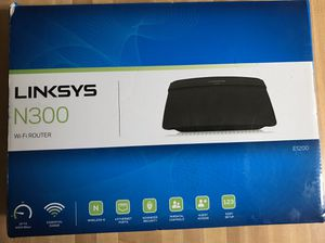 Linksys E1200 Wireless N300 Wi Fi Router for Sale in Lanham, MD