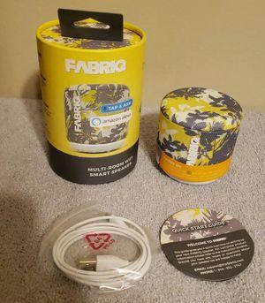 FABRIQ Multi-Room WIFI Smart Speaker Multi Pattern Alexa-Enabled, NEW for Sale in Downers Grove, IL