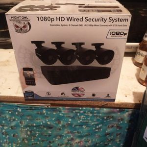 Brand New Night Owl 1080 P Security Camera System for Sale in Hotchkiss, CO