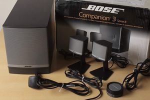 Bose Companion 3 Series II multimedia speaker system (Graphite/Silver) for Sale in Beulaville, NC