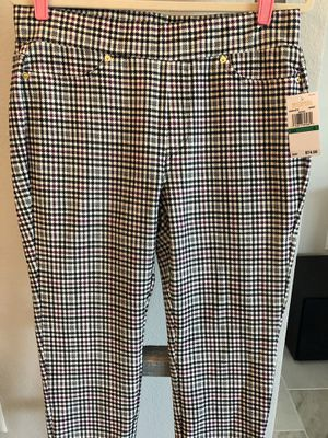 NWT Michael Kors houndstooth pants for Sale in Lutz, FL