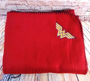 Custom Embroidered Wonder Woman Blanket for Sale in Lufkin, TX