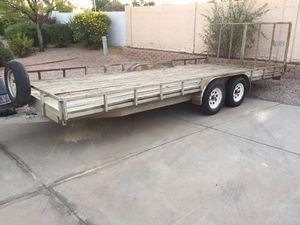 Gravely 8x20 heavy duty car hauler utility trailer for Sale in Mesa, AZ