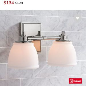 Hayden traditional double sconce for Sale in Arlington, TX
