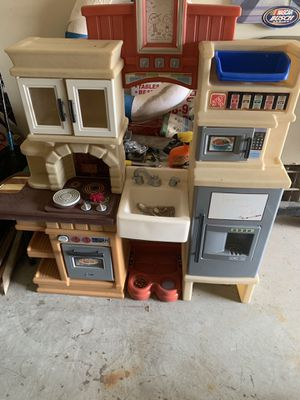 Kids small toy kitchen for Sale in Houston, TX