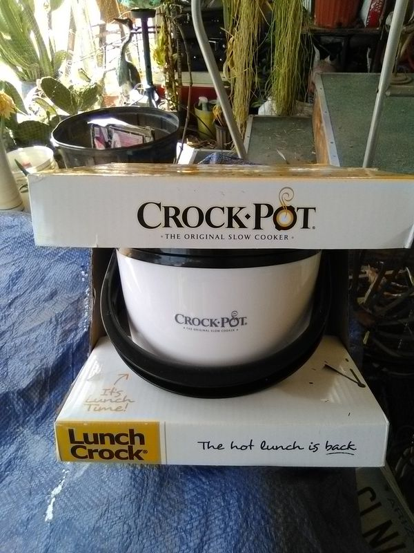 "Lunch Crock (Personal Lunch Crock Pot) ""The Original Crock Pot"" New. L@@K!!!"