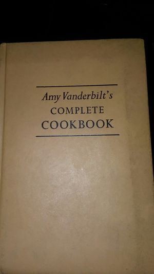 Vanderbilt's complete cookbook with illustrations by Andy Warhol for Sale in Hebron, OH