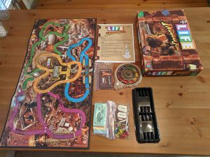 The Game of Life Indiana Jones Edition Board Game Complete 2008 Hasbro for Sale in San Gabriel, CA