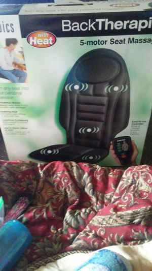 Homedics Back Therapy 5 Motor Seat Massager for Sale in Bellefontaine, OH
