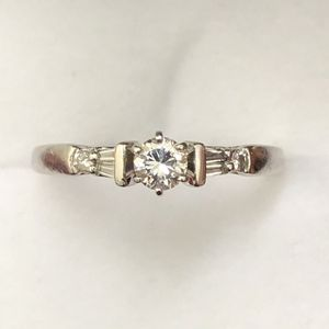 Diamond Platinum Ring - Size 8 for Sale in Orlando, FL