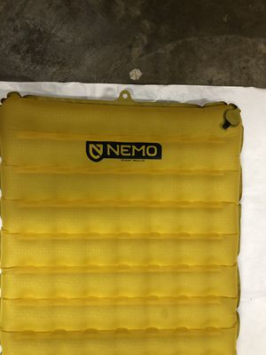 NEMO TENSOR SLEEPING PAD with stuffsack and Vortex inflation bag. for Sale in Virginia Beach, VA