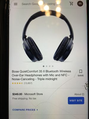 Bose quiet comfort 35 II for Sale in Malden, MA