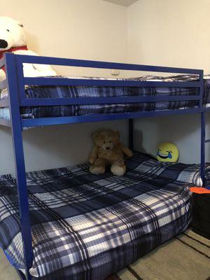 Bunk bed no mattresses for Sale in Fairfax, VA