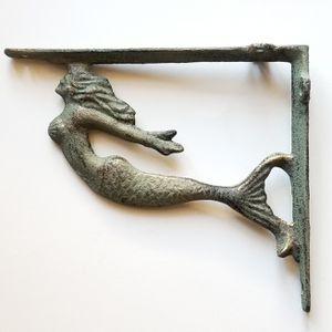 Brand New! Pair (2) Mermaid Shelf Brackets for Sale in Miami, FL