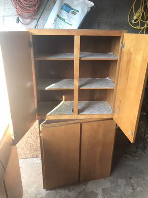Antique kitchen cabinets 1954 for Sale in Mount Oliver, PA