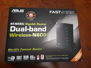 Asus Gigabit Dual-Band Router for Sale in Kent, WA