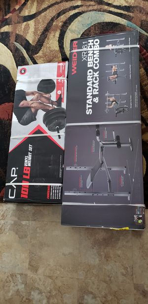 100 Pound Complete Weight Set for Sale in Miami, FL