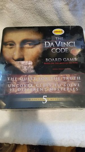 The DaVinci Code board game for Sale in Obetz, OH