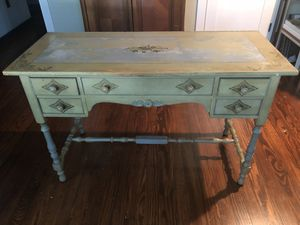 Antique painted desk / table for Sale in Austin, TX
