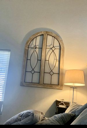 2 wrought iron wood large arches 36Width 52 Height $40each for Sale in Gilbert, AZ