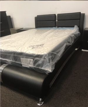 Queen Size Bed with Mattress. Brand New in Box. for Sale in Hialeah, FL