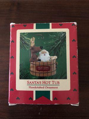 "Hallmark ""Polar Barrel Hot Tub Co"" Ornament from 1986 for Sale in McKinney, TX"