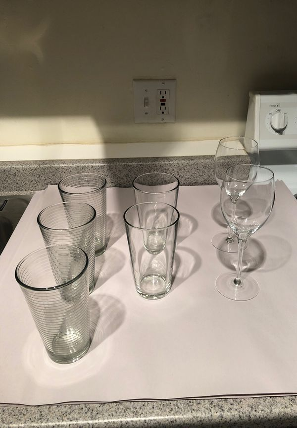 Beer Glasses, Glasses & Wine Glasses