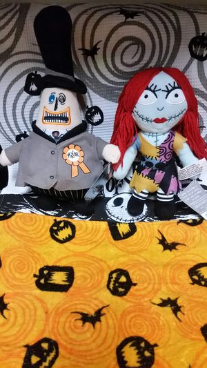 2 X The Nightmare Before Christmas Collectable Plush Sally and Mayor Doll. for Sale in Austin, TX