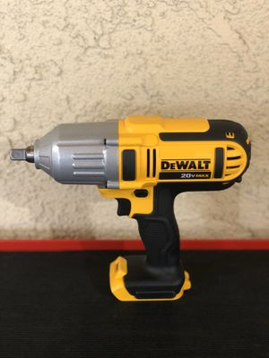 DEWALT 20-Volt MAX Lithium-Ion Cordless 1/2 in. High Torque Impact Wrench with Detent Pin (Tool-Only) - Brand New Never Used for Sale in Riverside, CA