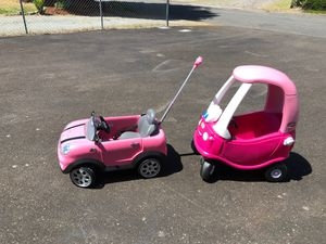 Outdoor play cars for Sale in Puyallup, WA