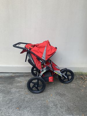 Bob double jogging stroller red for Sale in Tyrone, GA