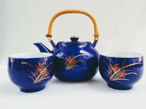 Blue Asian Tea Set for Sale in Orlando, FL