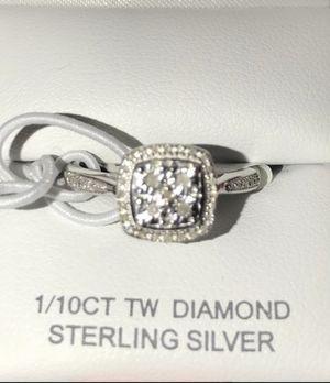 Brand new 1/10 diamond ring size 7 $60 for Sale in Dublin, CA