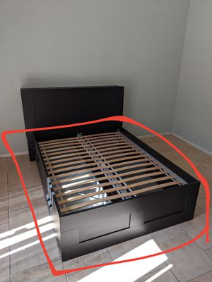 BRIMNES IKEA Full Bed Frame for Sale in Perris, CA