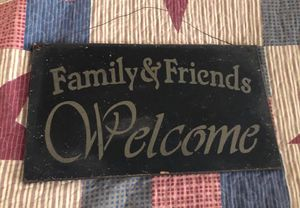 Welcome sign $5.00 for Sale in Ravenswood, WV