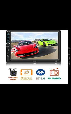 7 inches touch screen MP5 player car stereo system with back camera and Bluetooth and much more for Sale in Katy, TX