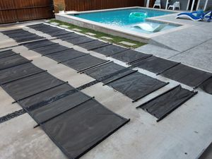 Pool fence 90 feet with manual door for Sale in Farmers Branch, TX