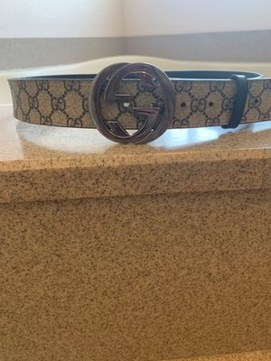 Gucci belt size 36 for Sale in Glendale, AZ