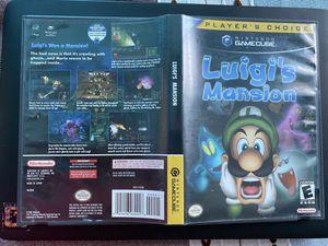GameCube Luigis Mansion. for Sale in Lynwood, CA