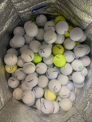 100 assorted golf balls for Sale in Encinitas, CA