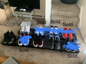 Foams Jordan's and Iversons for sale !!!$300 for all of them .. SUPER CLEAN!! for Sale in Norwich, CT
