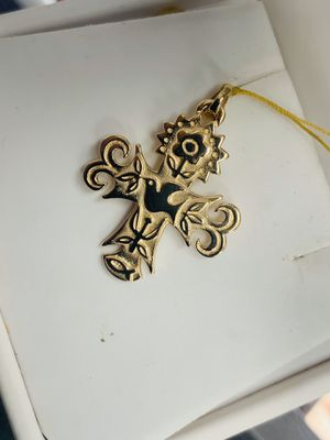 "James Avery 14k Yellow Gold Pendant "" La Primavera Cross "" for Sale in Houston, TX"