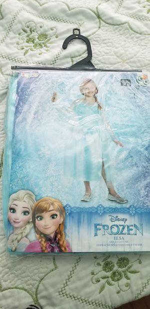 Elsa Frozen costume size Medium 7-8 for Sale in Downey, CA