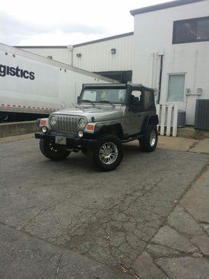 2000 jeep wrangler tj for Sale in Shelbyville, TN