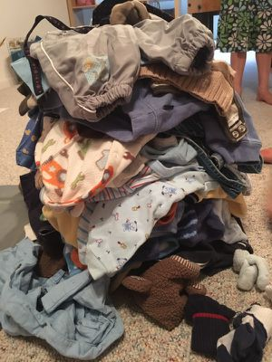 Lot of 0-6 month boy winter clothes for Sale in Apex, NC