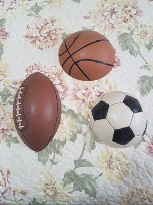 Sports balls wall decoration for Sale in Richmond, CA