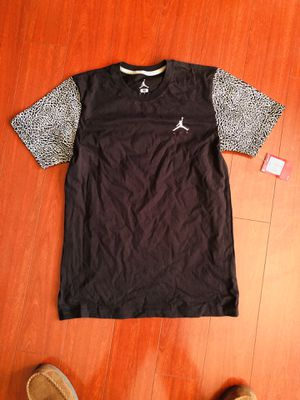 Jordan cement t-shirt tee medium M new tags 100% authentic $20 FIRM for Sale in Las Vegas, NV