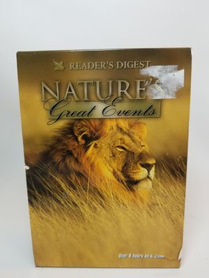 Reader's Digest Nature's Great Events DVD collection for Sale in NJ, US