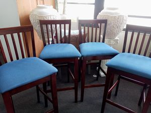 4. Bar Stools-----brown for Sale in Orlando, FL