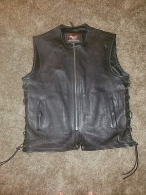 High Mileage Men's Leather Vest for Sale in Silver Spring, MD
